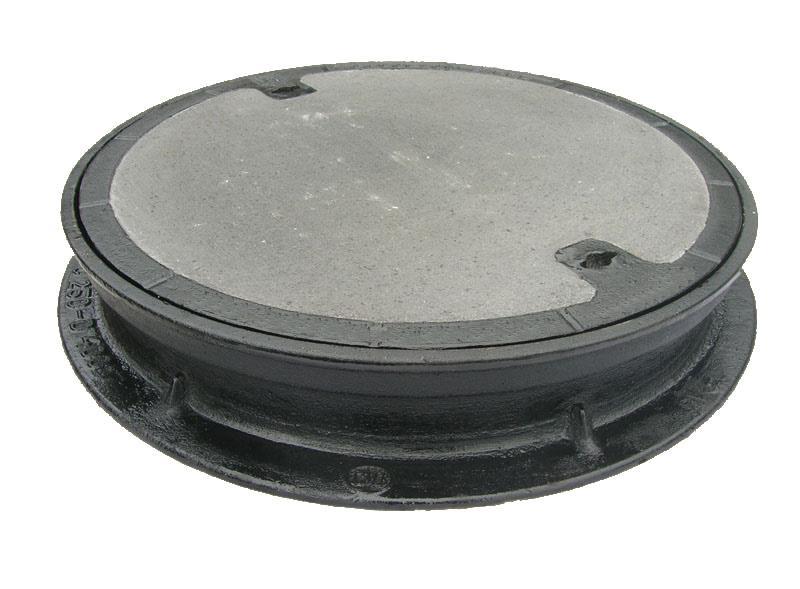 Zaawansowane Właz żeliwno betonowy CO 600 H=115 mm wentylowany - Hurtownia ZQ48